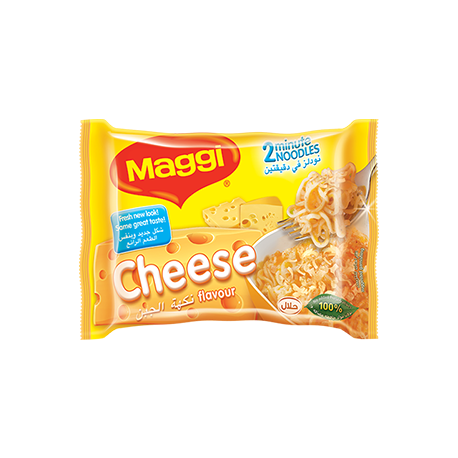 Maggi 2 Minute Noodles Cheese Flavour 5x77g
