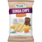 Simply 7 Quinoa Chips Cheddar 99g
