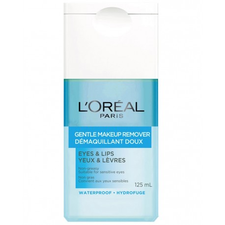 L'Oréal Gentle Make-Up Remover for Eyes & Lips 125ml