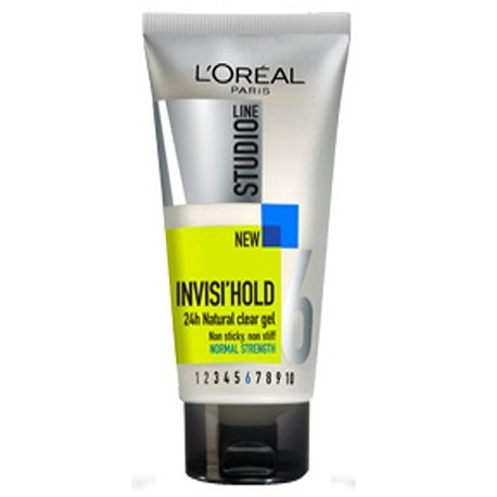 L'Oréal Studio 6 Invisi'Hold Normal Strength Hair Gel 150ml