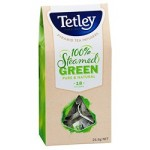 Tetley Steamed Green Pure & Natural 18 Pyramid Teabags