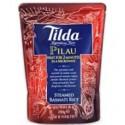 Tilda 2minutes Pilau Steamed Basmati Rice 250g