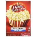 Orville Redenbacher's 3 Pop Up Bowl Kettle Korn Popcorn 246.9g