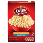 Orville Redenbacher's 3 Pop Up Bowl Cheddar Cheese Popcorn 246.9g