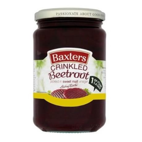 Baxters Crinkled Beetroot In Sweet Vinegar 340g