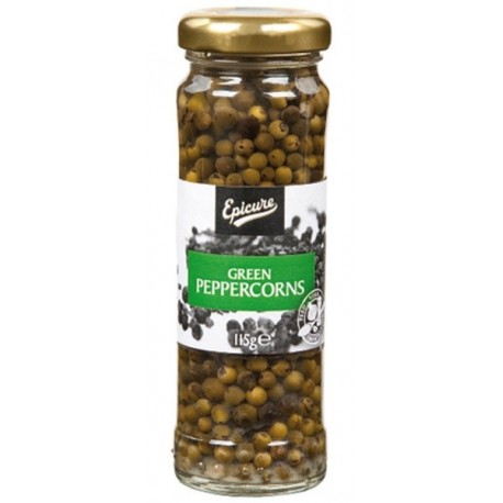 Epicure Green Peppercorns 115g