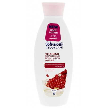 Johnson's Body Care Vita-Rich Brightening Body Lotion with Pomegranate Flower Extract 250ml