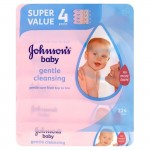 Johnson's Baby Extra Sensitive 168 Wipes 2+1 Free