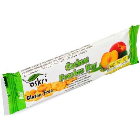 Oskri Cashew PEaches Bar 53g