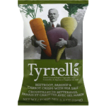 Tyrrell's Handcooked English Crisps Veg Crisps Excellence with an Elderflower Cordial 100g