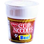 Nissin Cup Noodle Beef Flavour 60g