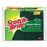 Scotch Brite Heavy Duty Scrub Sponge 6 Pack