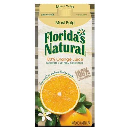 Florida's Natural Orange Juice Most Pulp 900ml