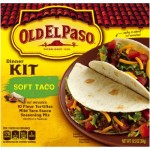 Old El Paso Taco Dinner Kit Soft Taco 354g