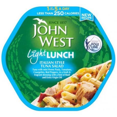 John West Light Lunch Italian Style Tuna Salad 220g