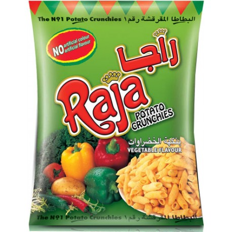 Raja Potato Crunchies Vegetable 70g