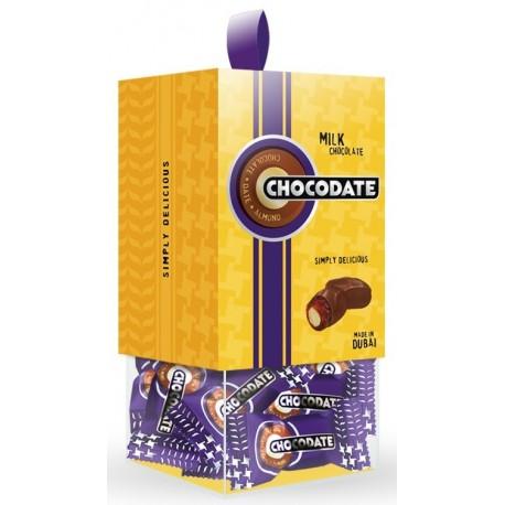Chocodate Milk Chocolate Coated Date with Almond 200g