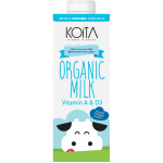 Koita Organic Milk Low Fat 1L