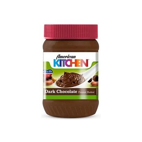 American Kitchen Dark Chocolate Peanut Butter 340g