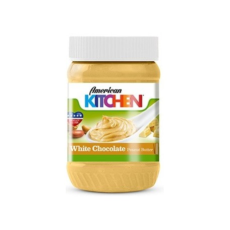 American Kitchen White Chocolate Peanut Butter 340g