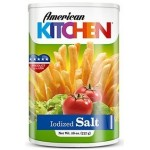 American Kitchen Iodized Salt 737g