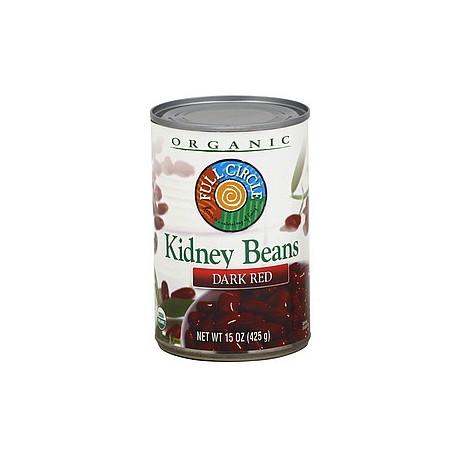 Full Circle Organic Dark Red Kidney Beans 425g