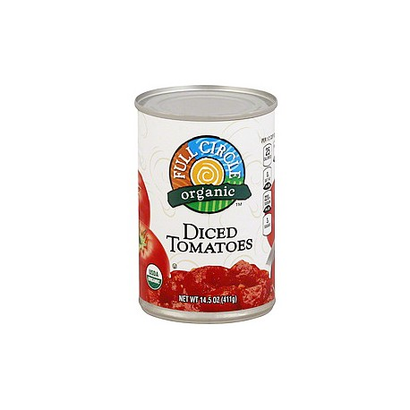 Full Circle Organic Diced Tomatoes 411g
