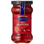 Santa Maria Red Jalapenos 200g