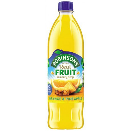 Robinsons Orange And Pineapple Juice No Added Sugar 1L