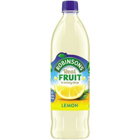 Robinsons Lemon (No Added Sugar) 1L