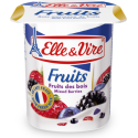 Elle & Vire Mixed Berries Yoghurt with Fruit Pieces 125g