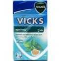 Vicks Menthol Soothing & Refreshing Throat Drops 40g