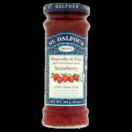 St. Dalfour Strawberry Jam No Added Sugar 284g