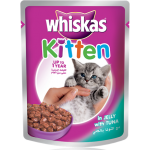 Whiskas Kitten in Jelly with Tuna 85g