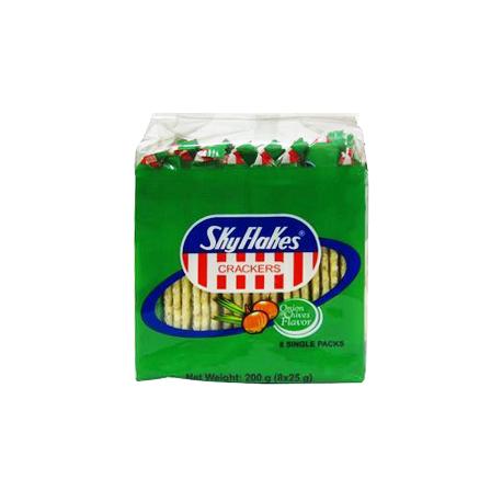 M.Y.San Sky Flakes Onion Chives 8 Single Packs 200g