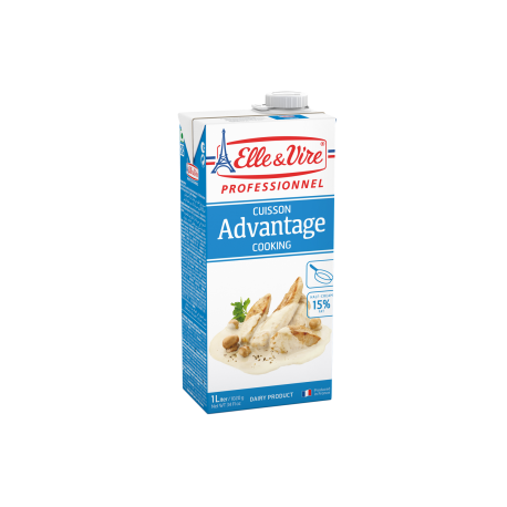Elle & Vire Advantage 15% Fat Cooking Cream 1L