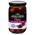 Always Fresh Kalamata Whole Olives 440g