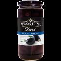 Always Fresh Spanish Black Whole Olives 450g