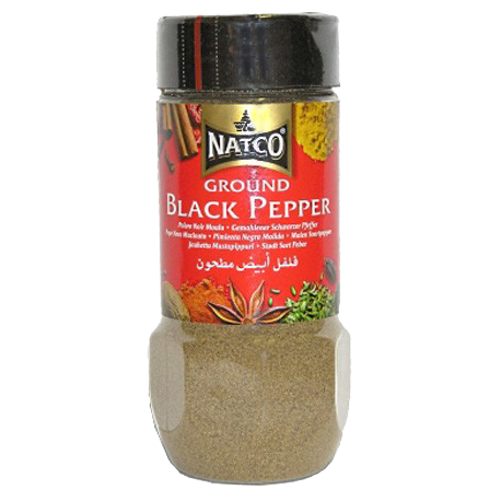 Natco Ground Black Pepper 100g
