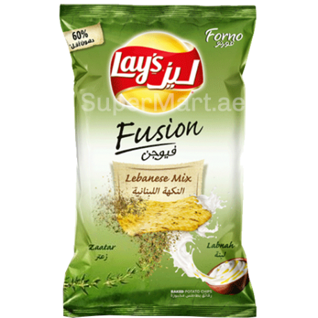 Lays Forno Lebanese Mix Zaatar & Labneh Potato Chips 160g