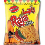 Raja Potato Crunchies Hot 70g