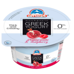 Olympus Authentic Greek Strained Yogurt with Raspberry & Pomegranate 150g