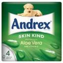 Andrex Skin Kind Aloe Vera 4rolls