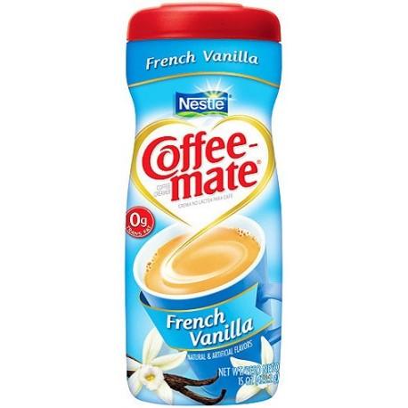 Nestle Coffee Mate Fat Free French Vanilla 289.1g