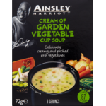 Ainsley Harriott Garden Vegetable Cup Soup 3 Servings
