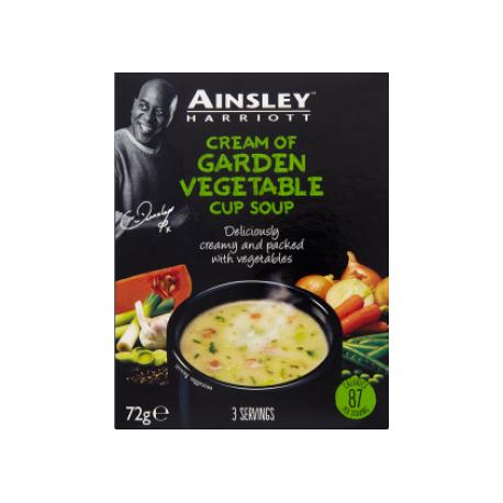 Ainsley Harriott Garden Vegetable Cup Soup 3 Servings