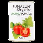 Bunalun Organic Chopped Tomatoes 400g