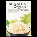 Bunalun Organic Microwave Popcorn 3 Pack