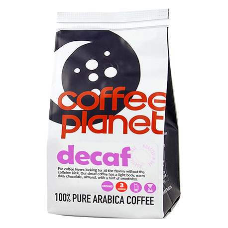 Coffee Planet Decaf Ground Coffee 250g