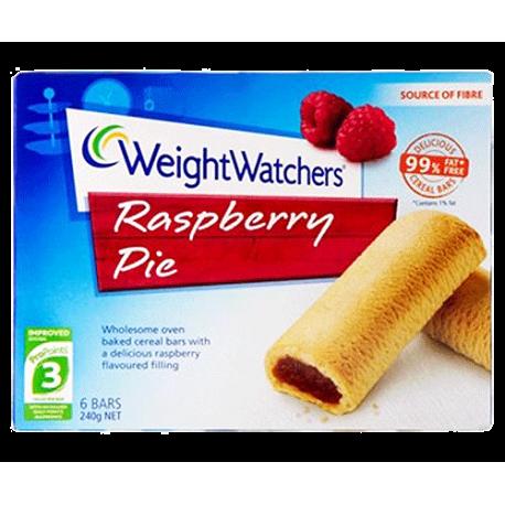 Weight Watchers Raspberry Pie 6 Bars 240g